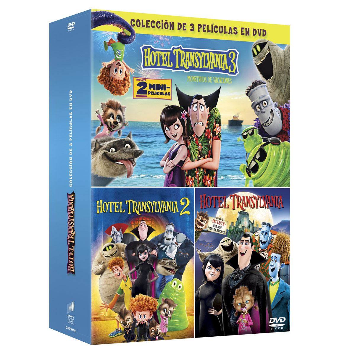 DVD Boxset Hotel Transylvania