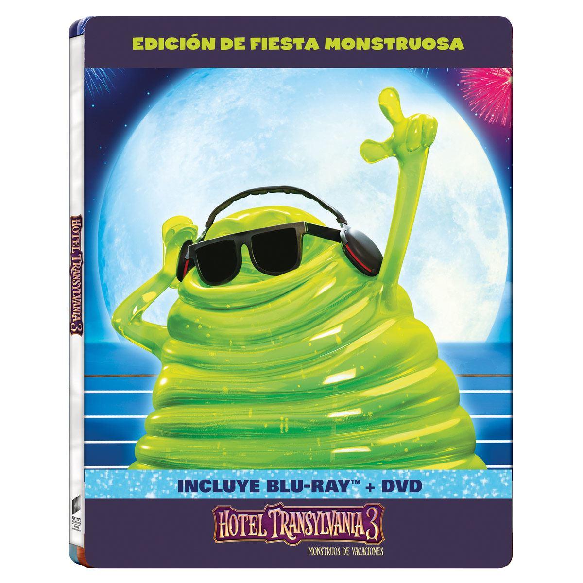 BR Steelbook Hotel Transylvania 3- Monstruos de Vacaciones