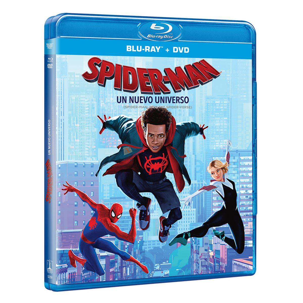 BR+ DVD Spiderman Un Nuevo Universo