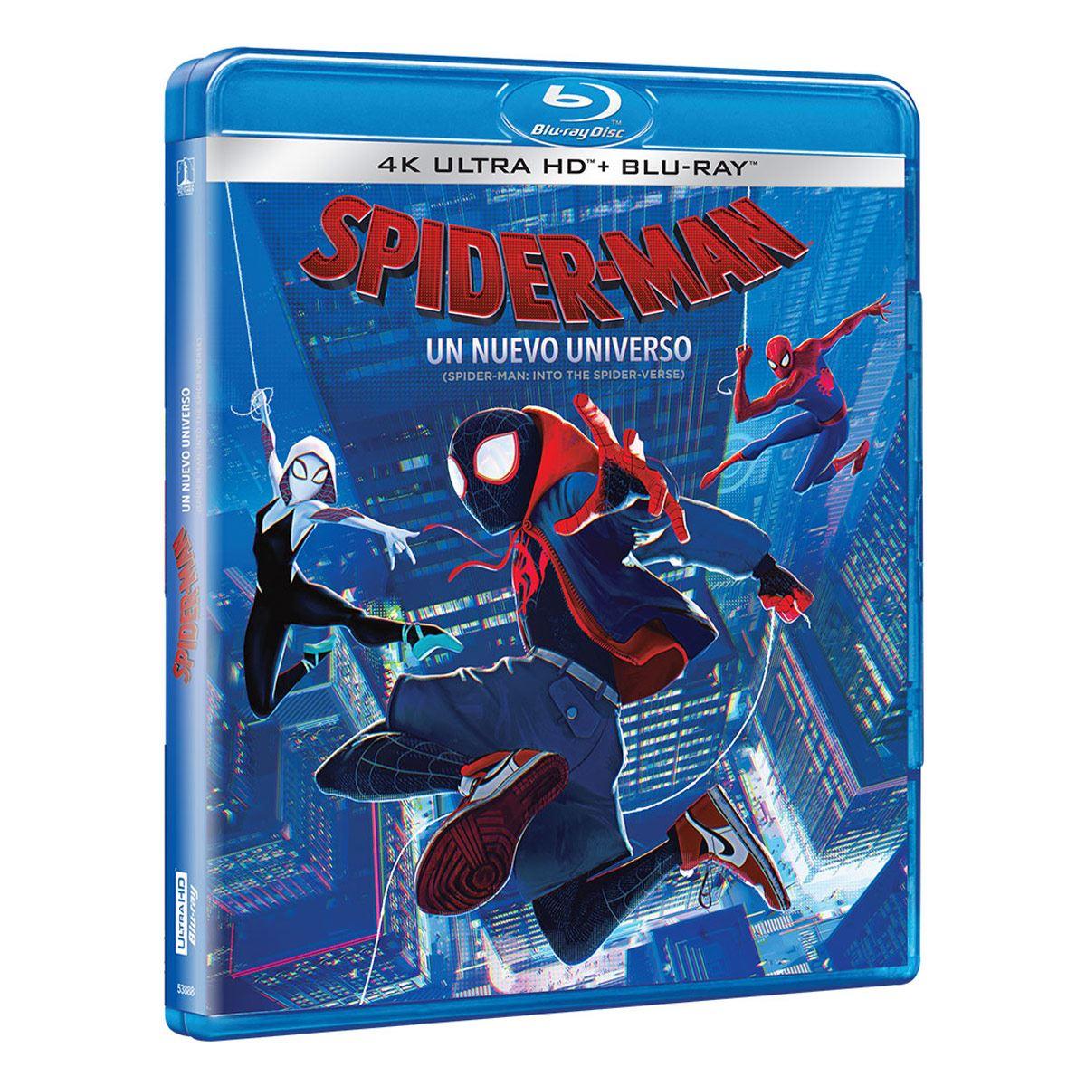 4K Spiderman Un Nuevo Universo