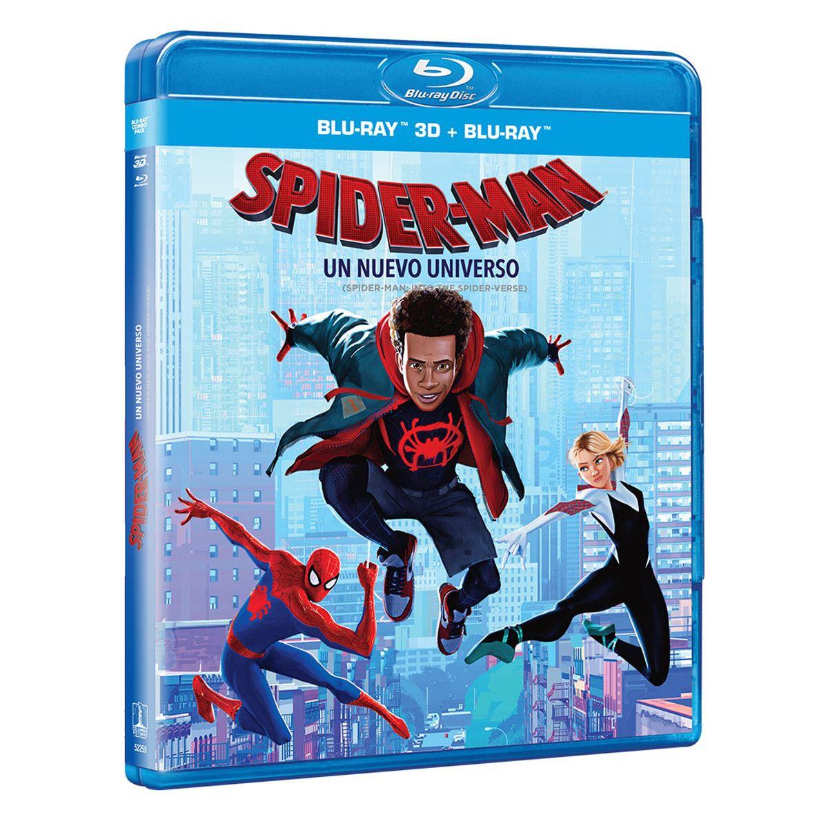 BR 3D Spiderman Un Nuevo Universo