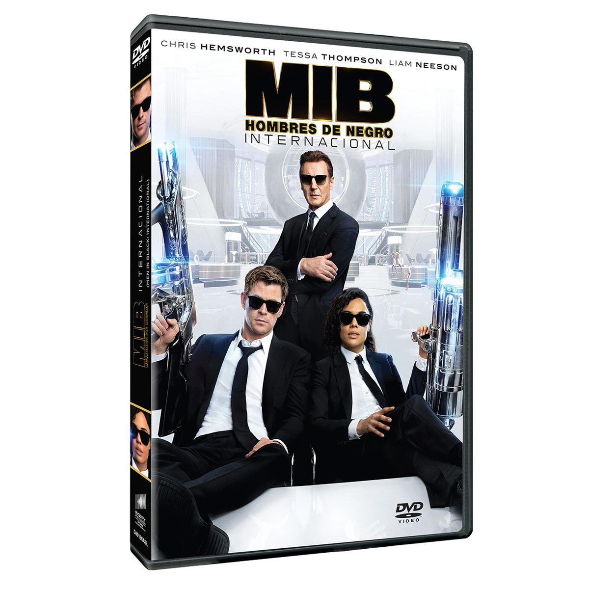 DVD Hombres de Negro Internacional