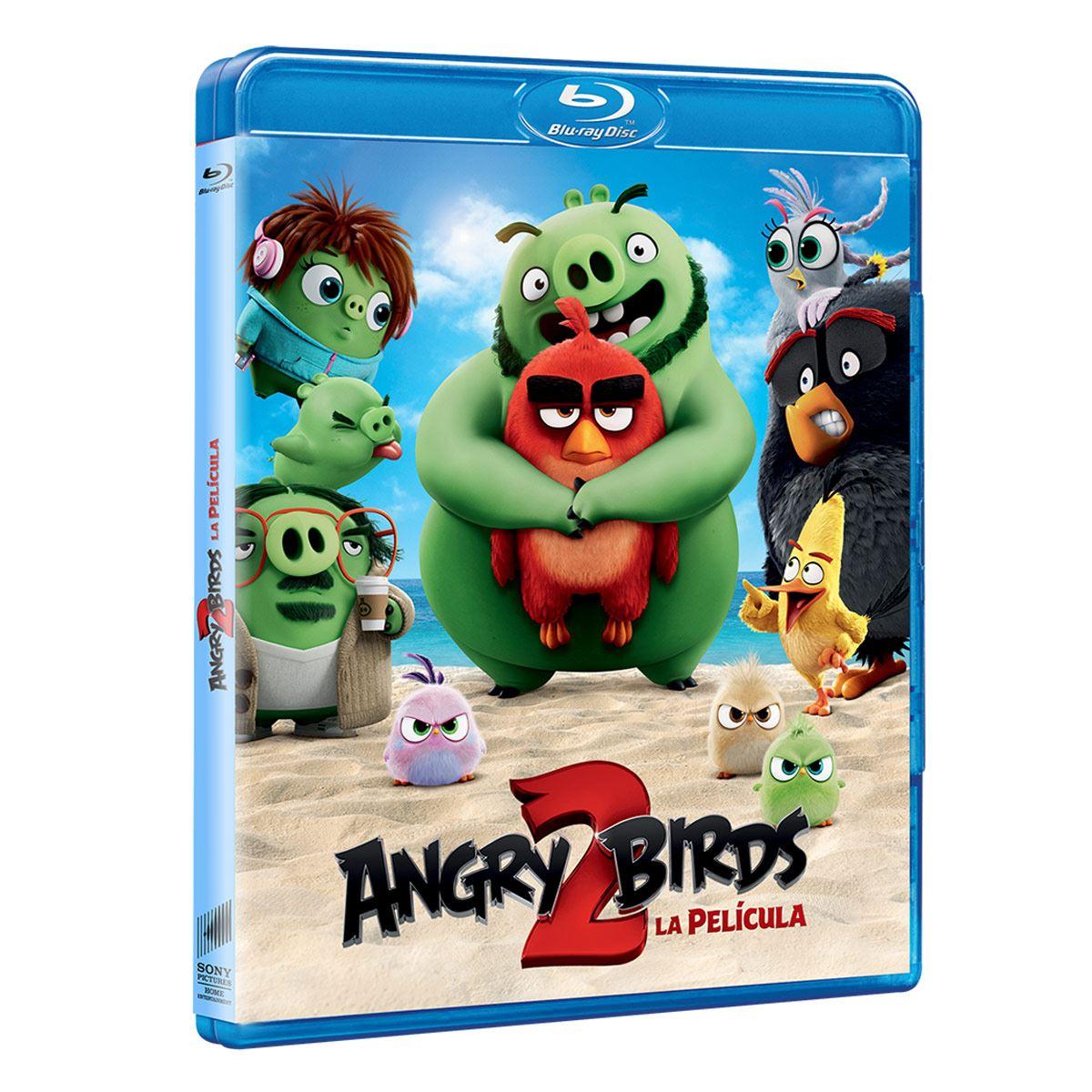 Blu-Ray Angry Birds 2 La Película