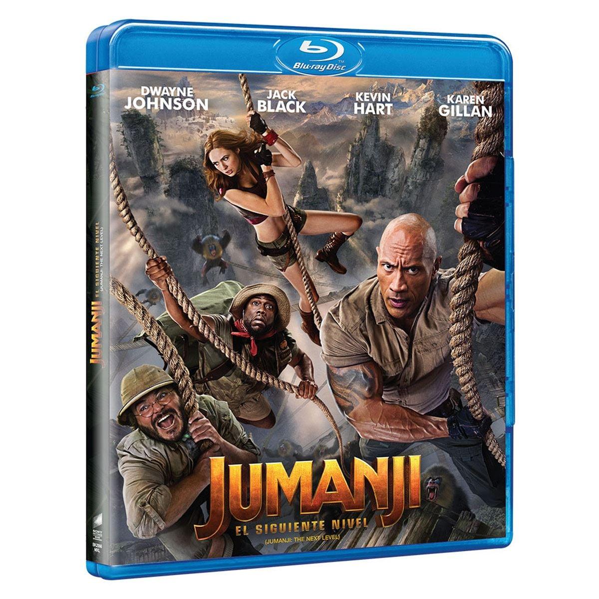 Blu-Ray Jumanji: El Siguiente Nivel