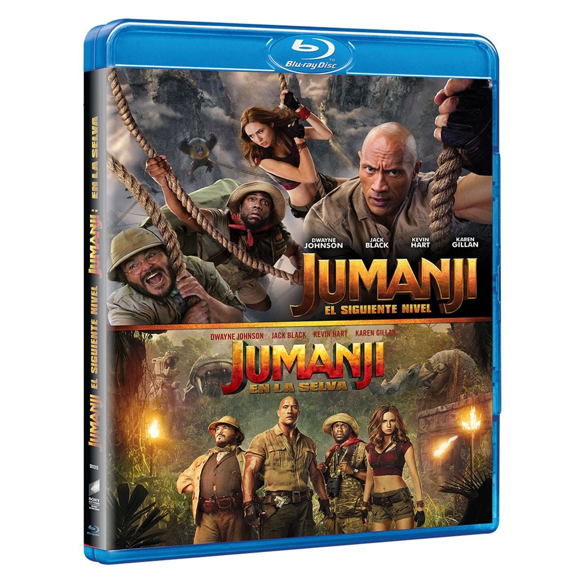 Box Set Blu-Ray Jumanji