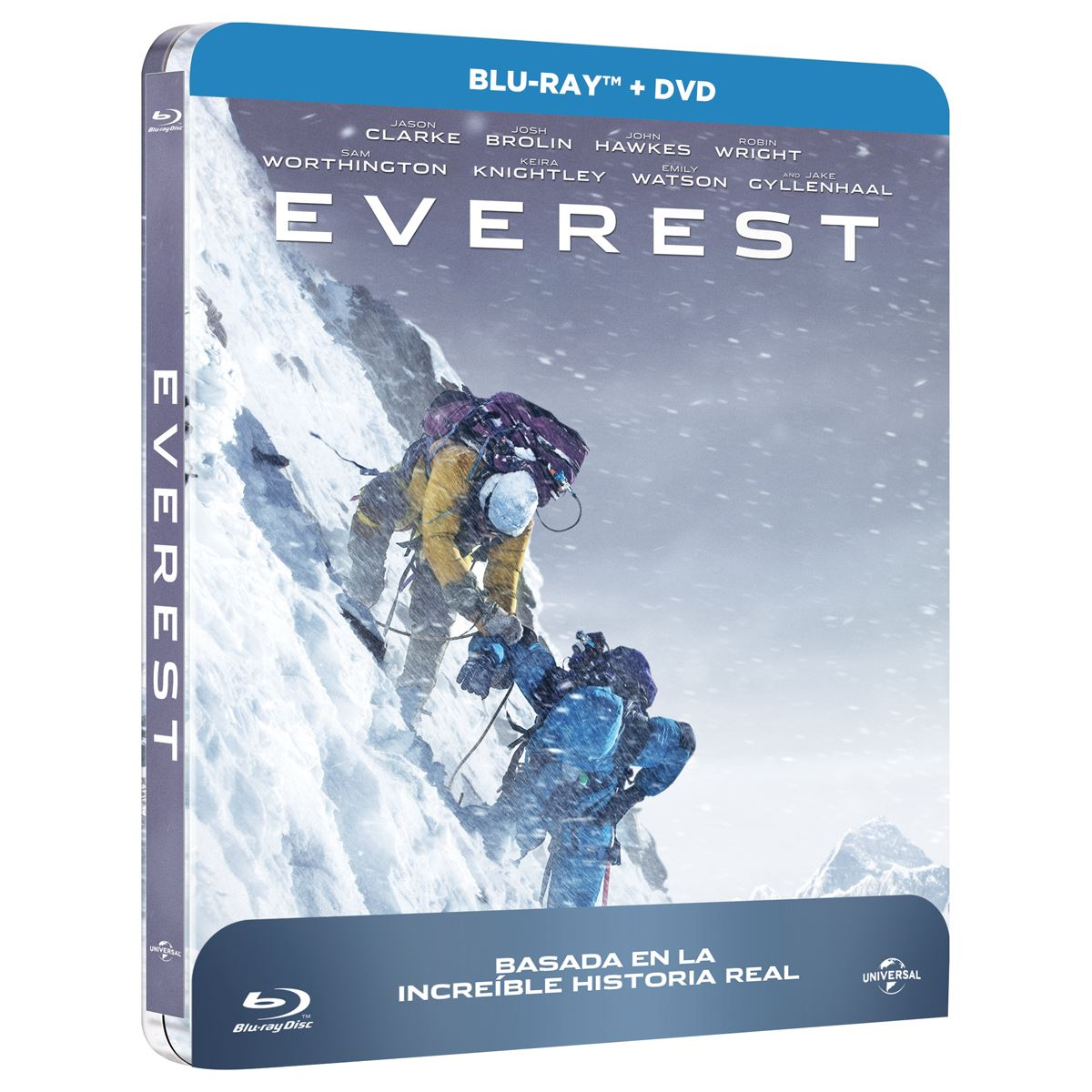 Everest Steelbook Bluray con DVD