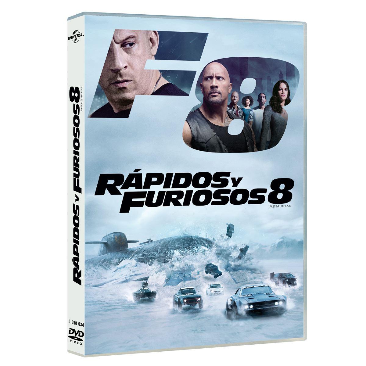 DVD Rapido y Furioso 8