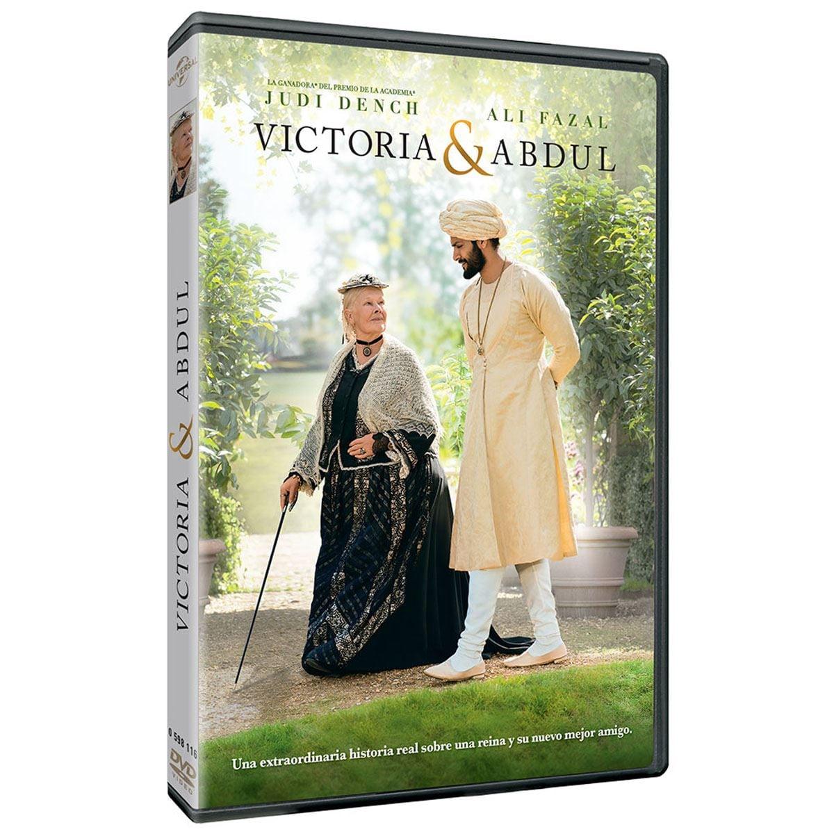 DVD Victoria y Adbul