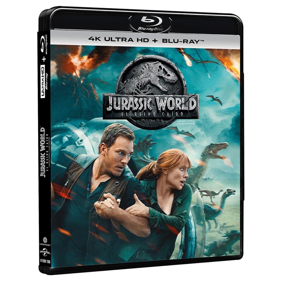 4K UHD Jurassic World Reino Caído