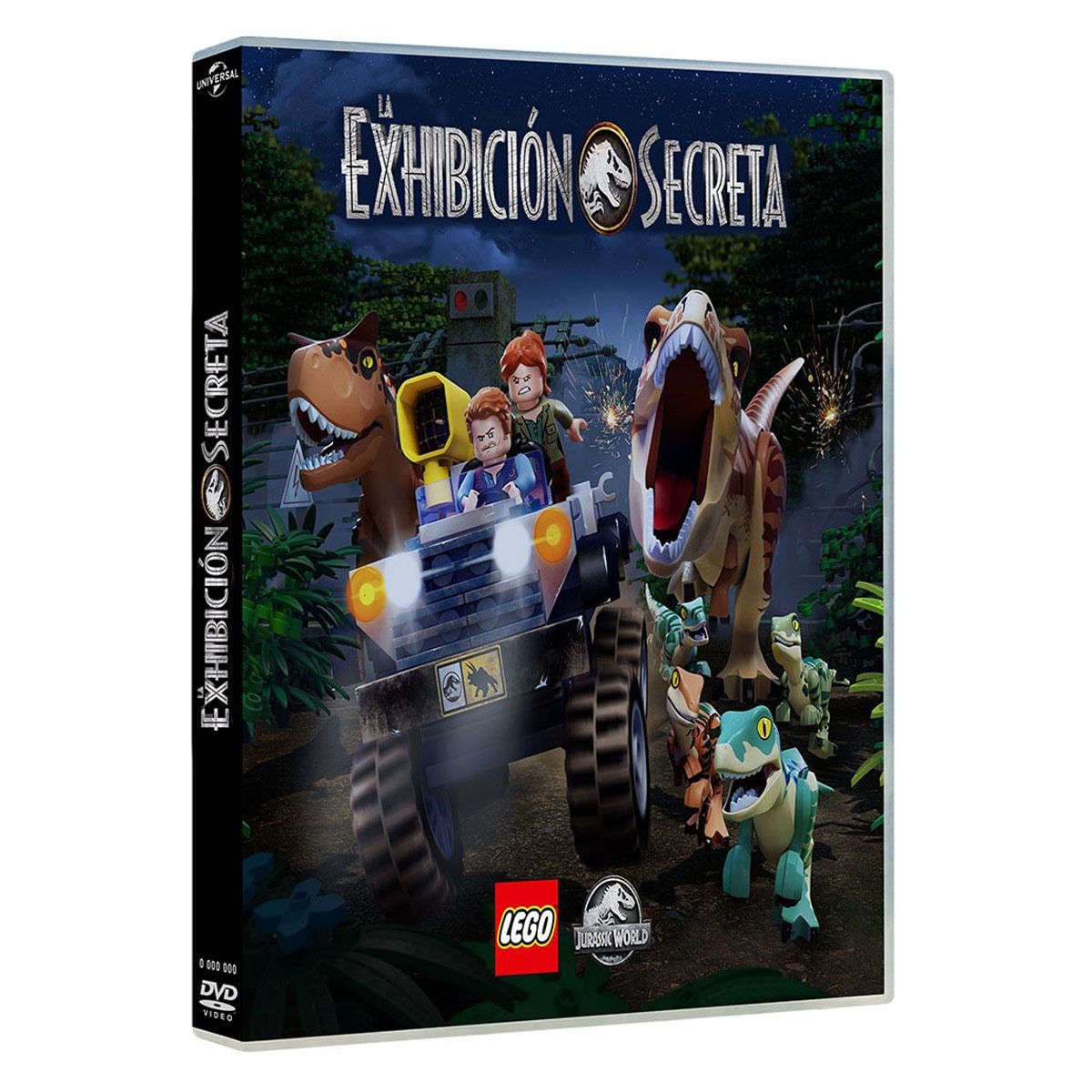 DVD Lego Jurassic World La Exhibición Secreta
