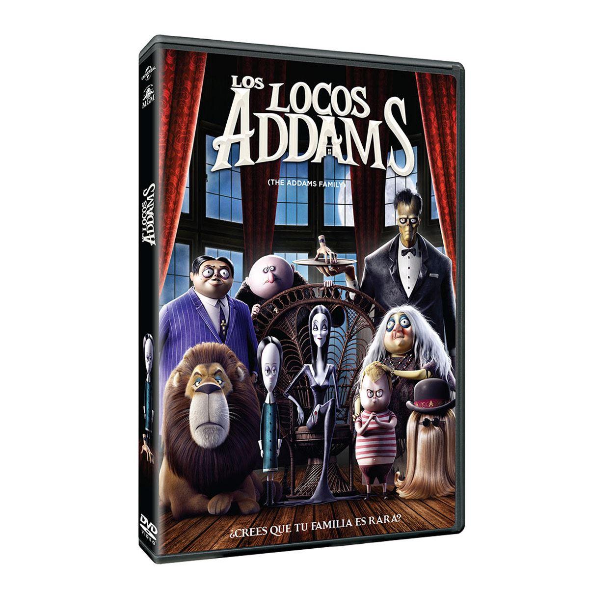DVD Los Locos Addams