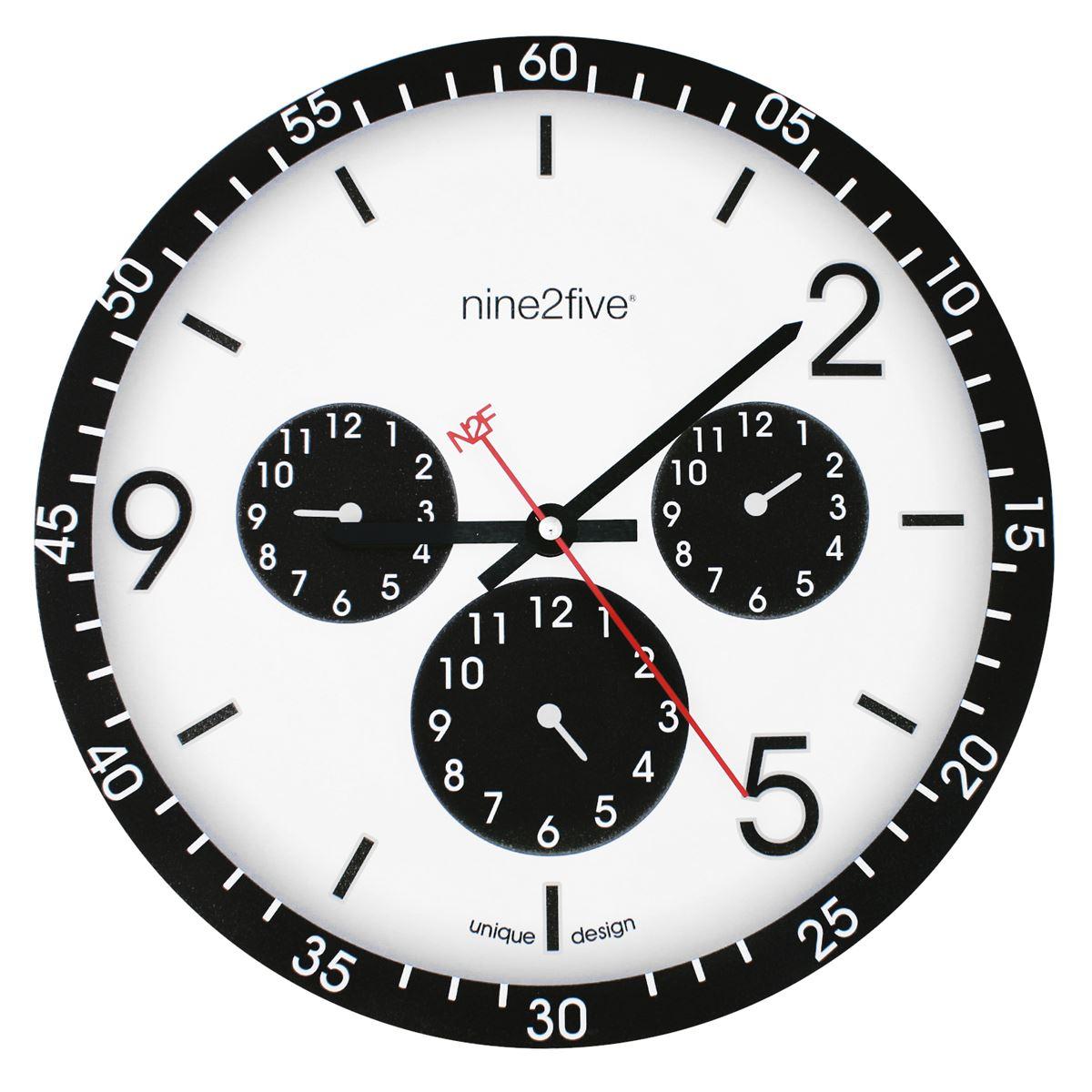 Reloj de pared NINE2FIVE PCLS01NG