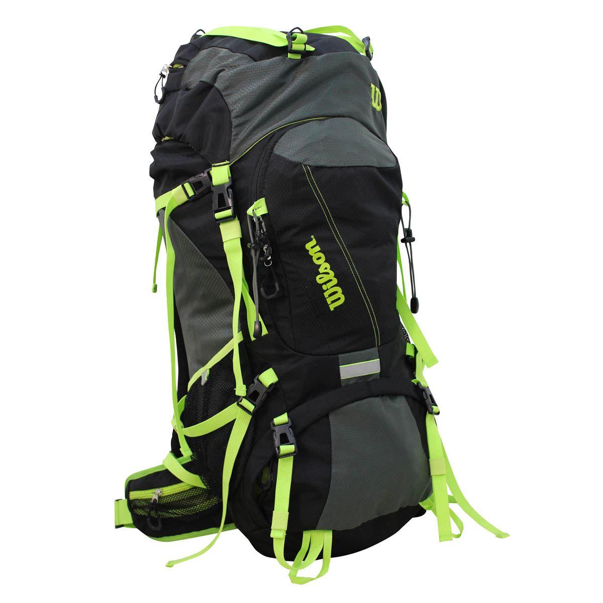 Camping Bag Ie-15104 Black/Green Wilson