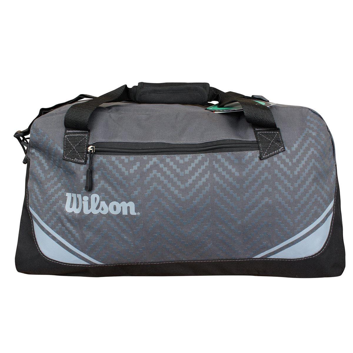 Maleta Deportiva Wilson Is-15333 Gris Negra