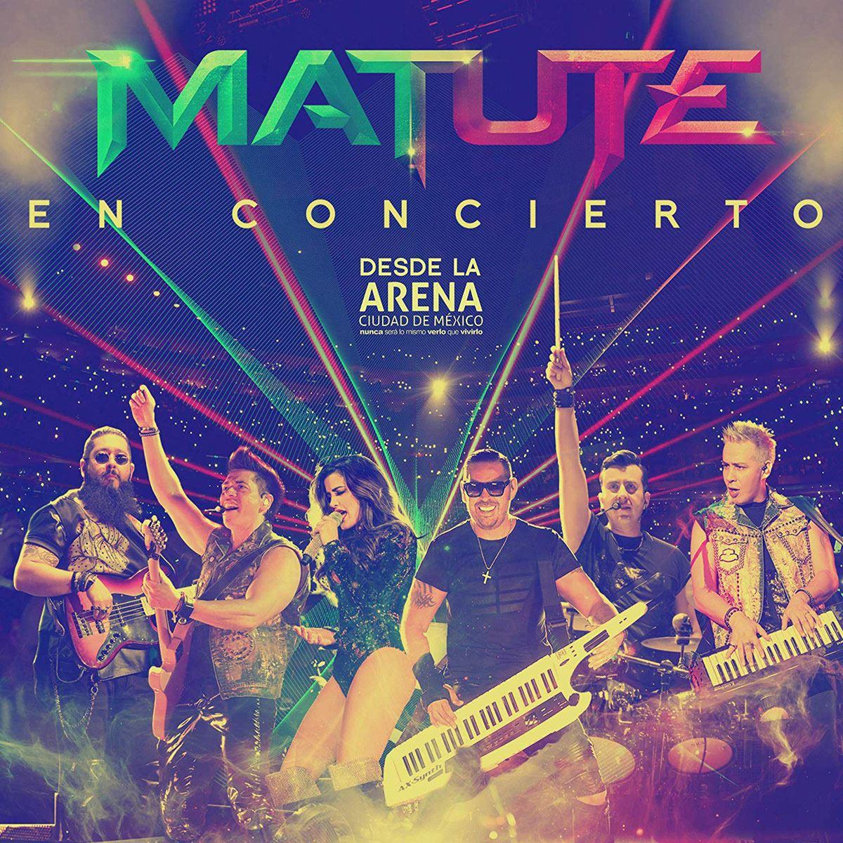 CD2/DVD Matute en Concierto desde la Arena Ciudad de México