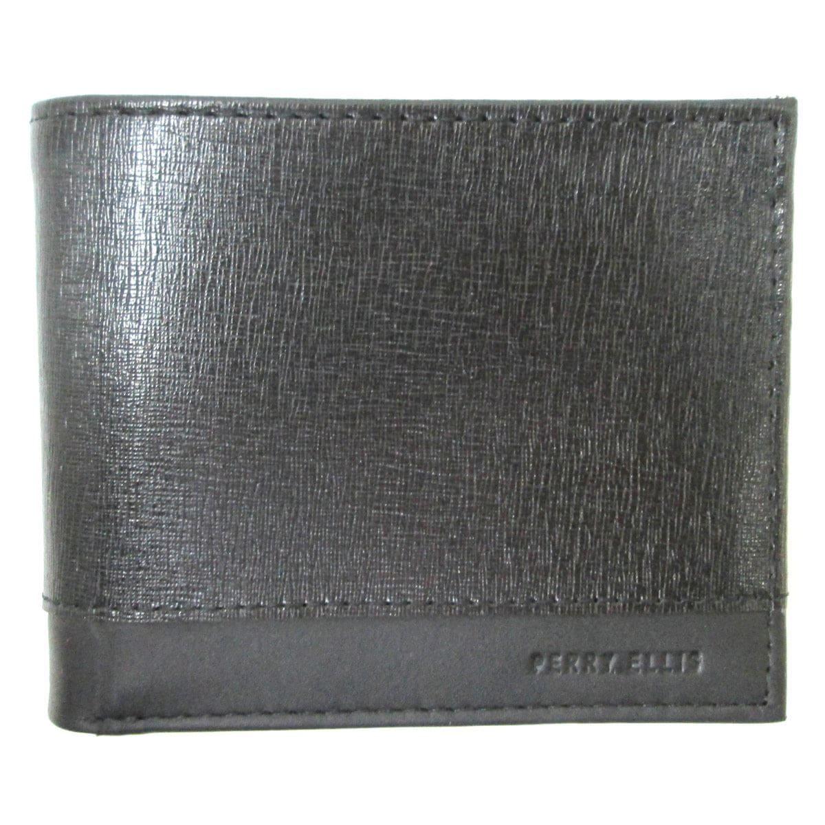 Billetera Negro L77-0130-1 Perry Ellis