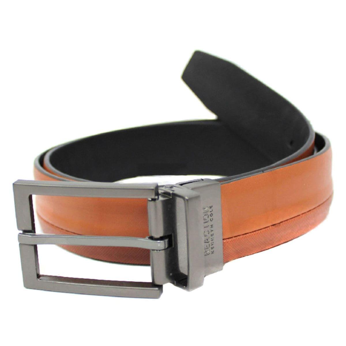 Cinturón T 34-36 Cognac/Negro K11-5005-0b Kenneth Cole