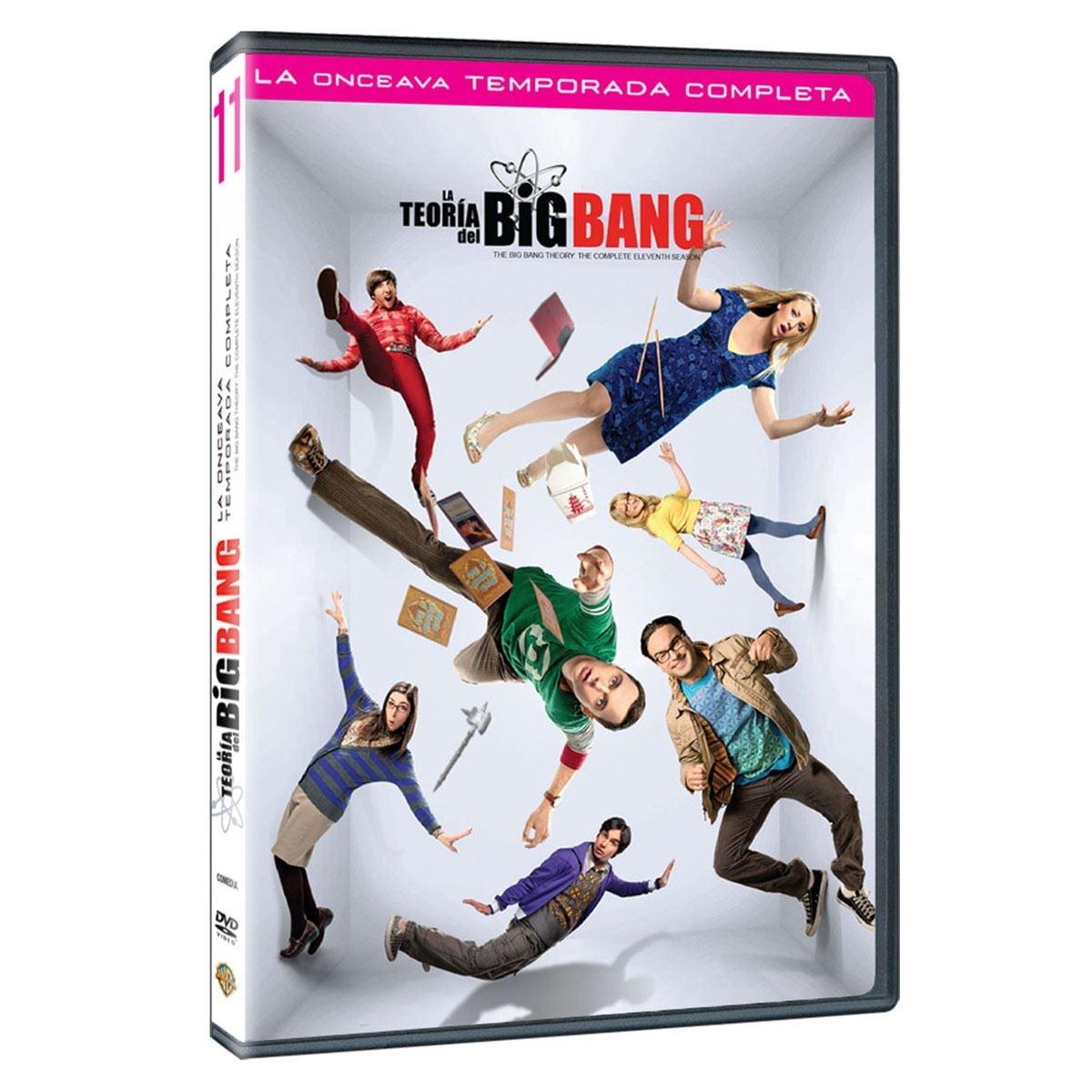 DVD The Big Bang Theory: Onceava Temporada Completa