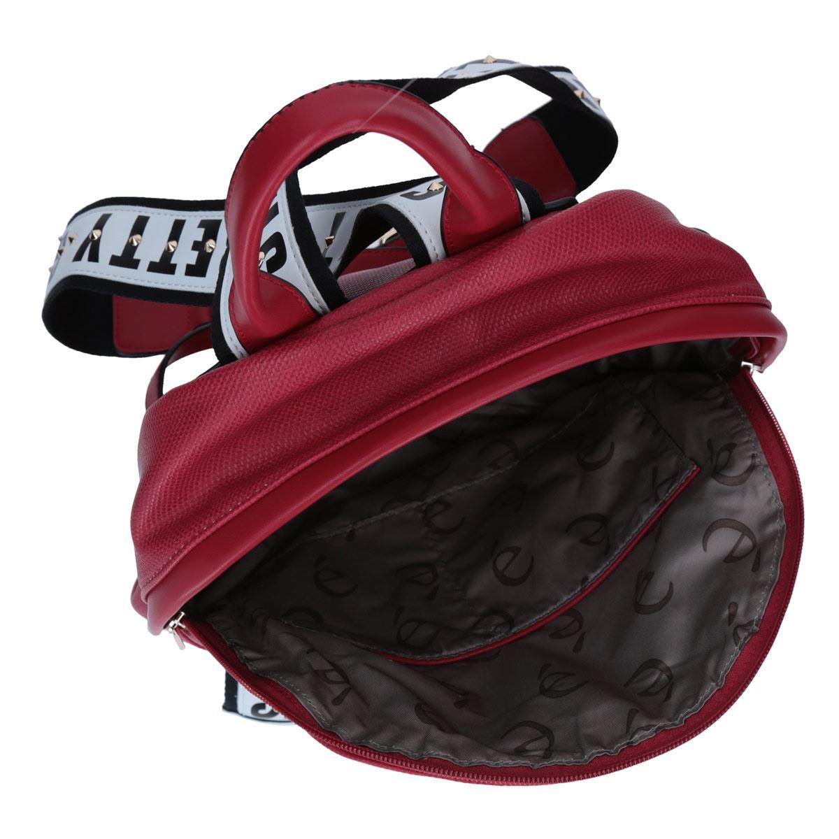 Bolso Back Pack Mediana Color Rojo Gorétt