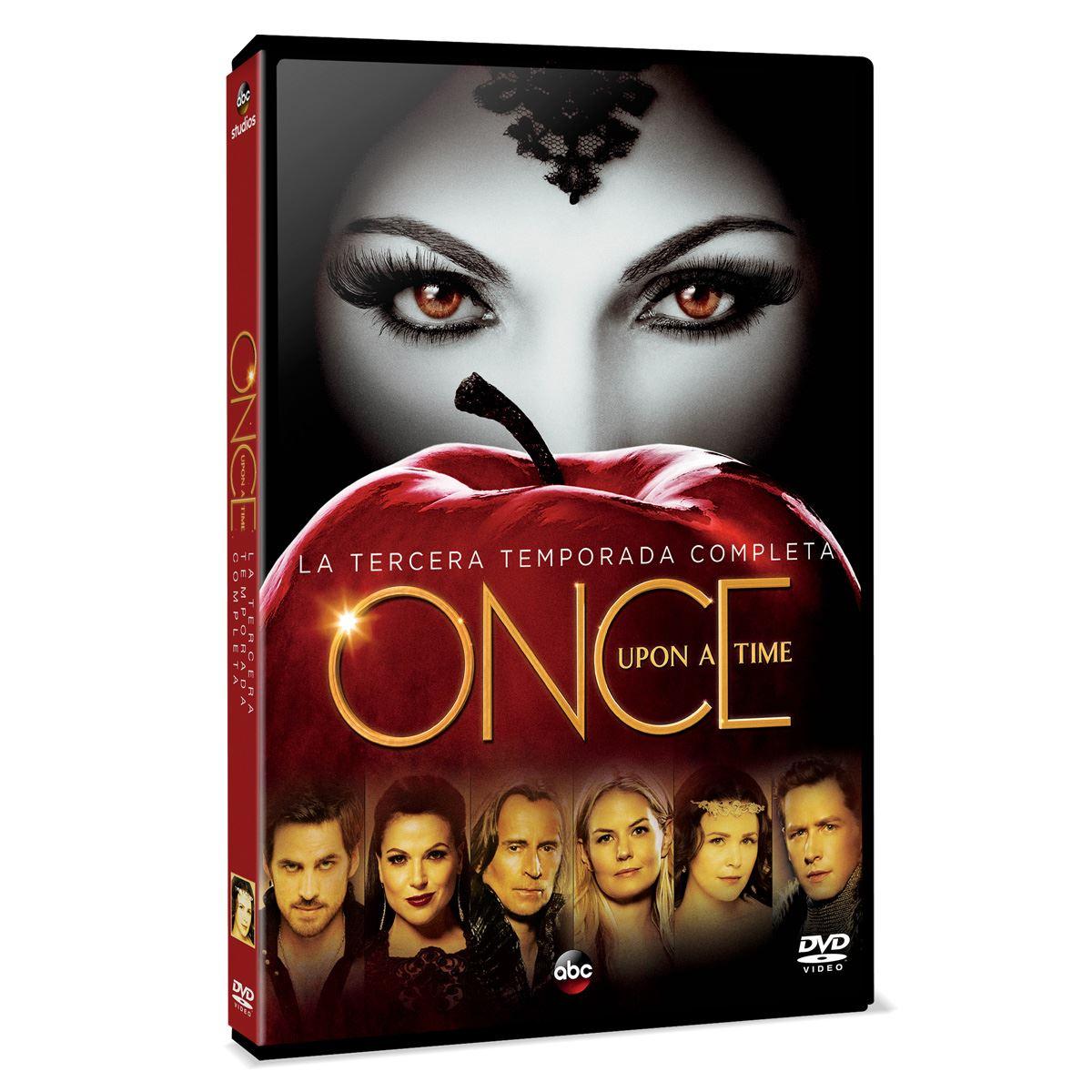 DVD Once Upon a Time: La tercera temporada completa
