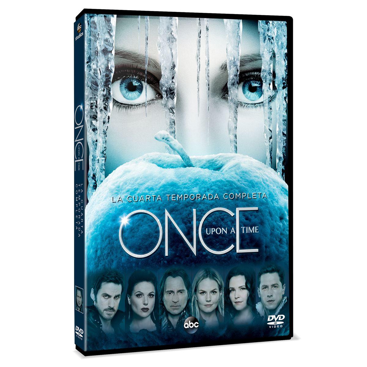 DVD Once Upon A Time: Temporada 4