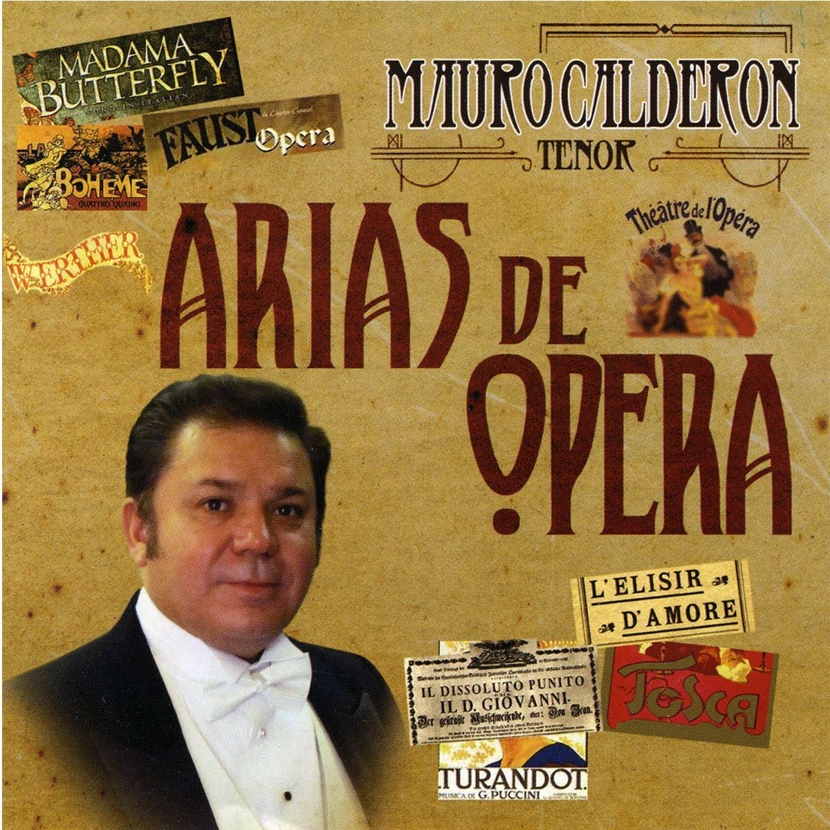 CD Mauro Calderón-Arias De Opera