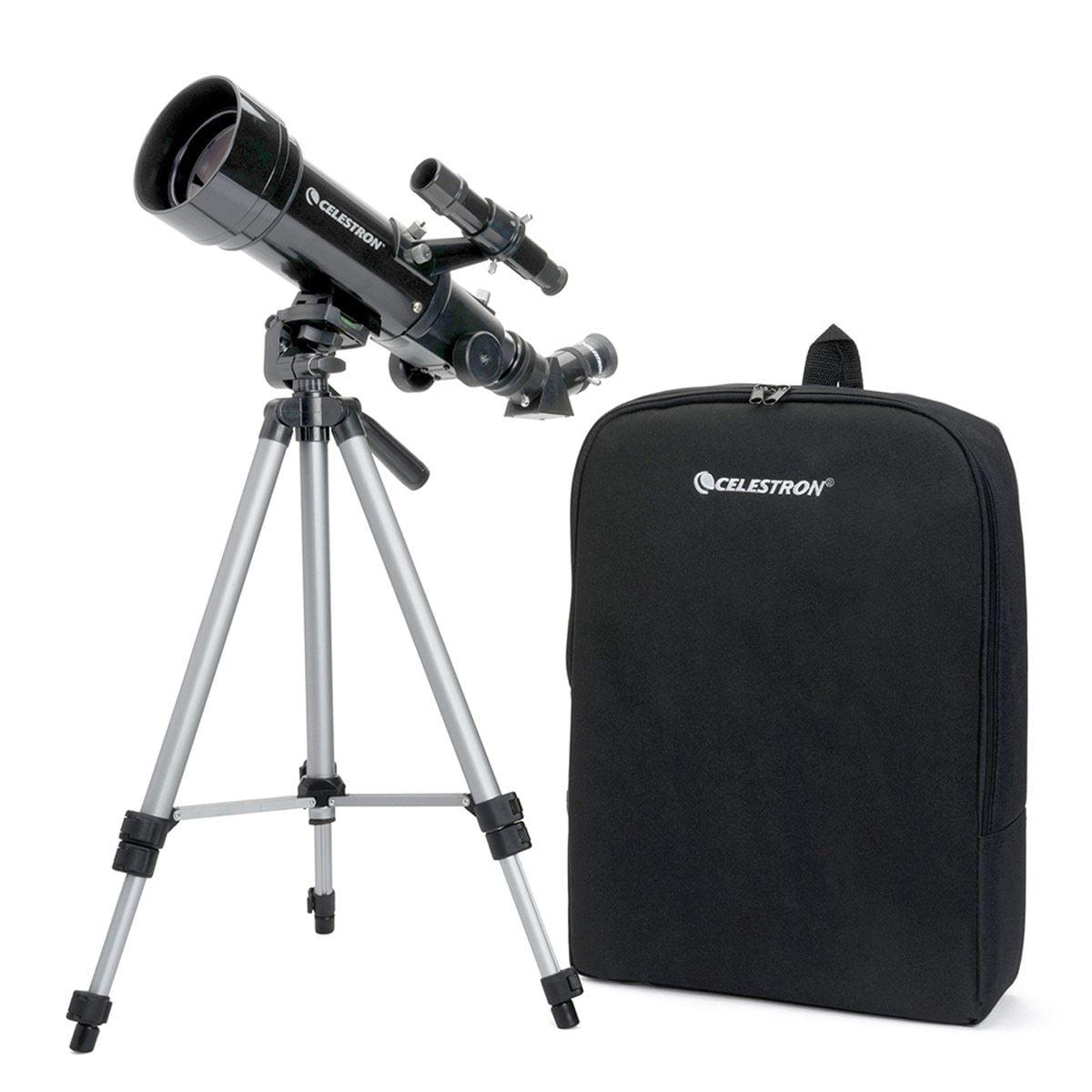 Telescopio Celestron 70 x 400 negro