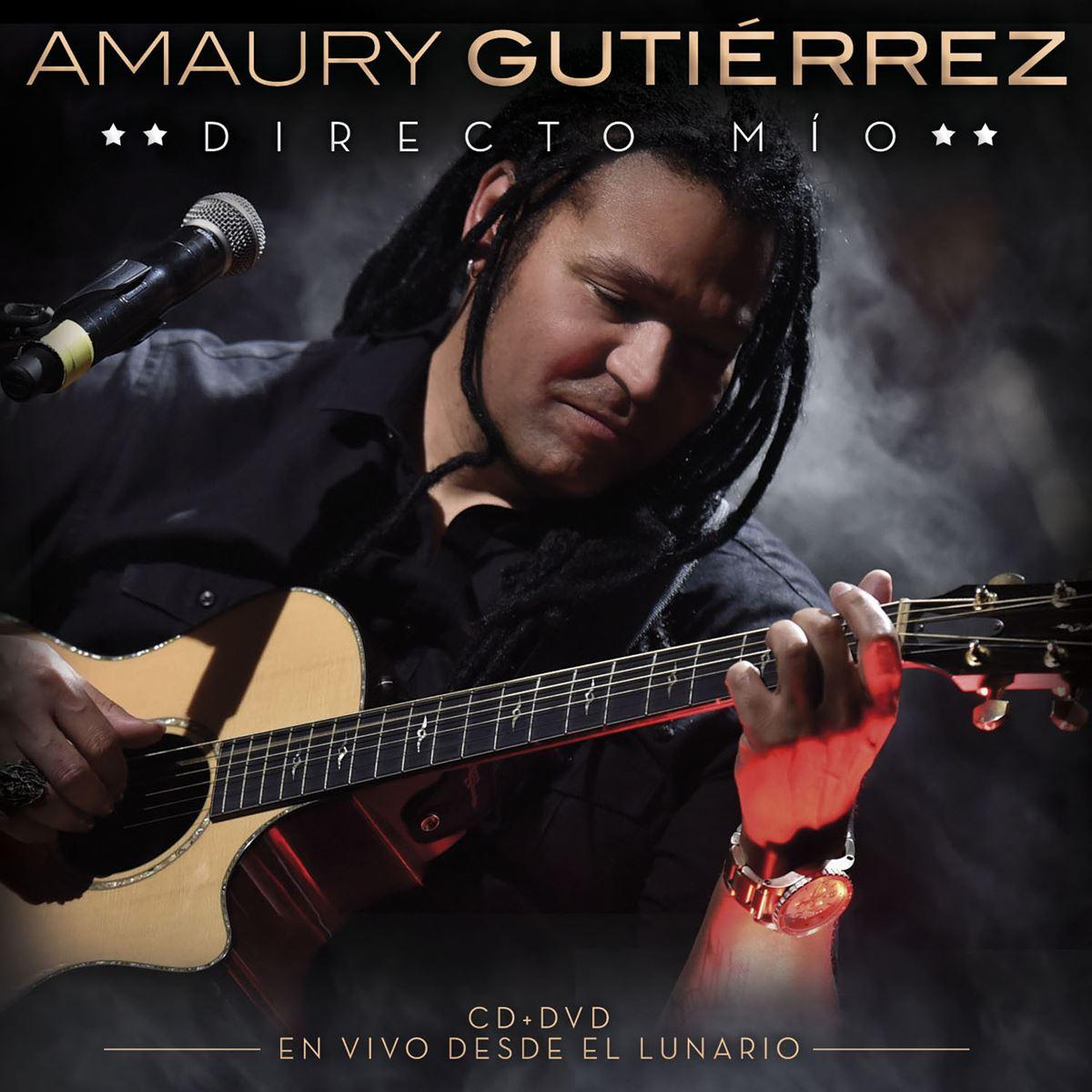 CD/ DVD Amaury Gutiérrez- Directo Mío