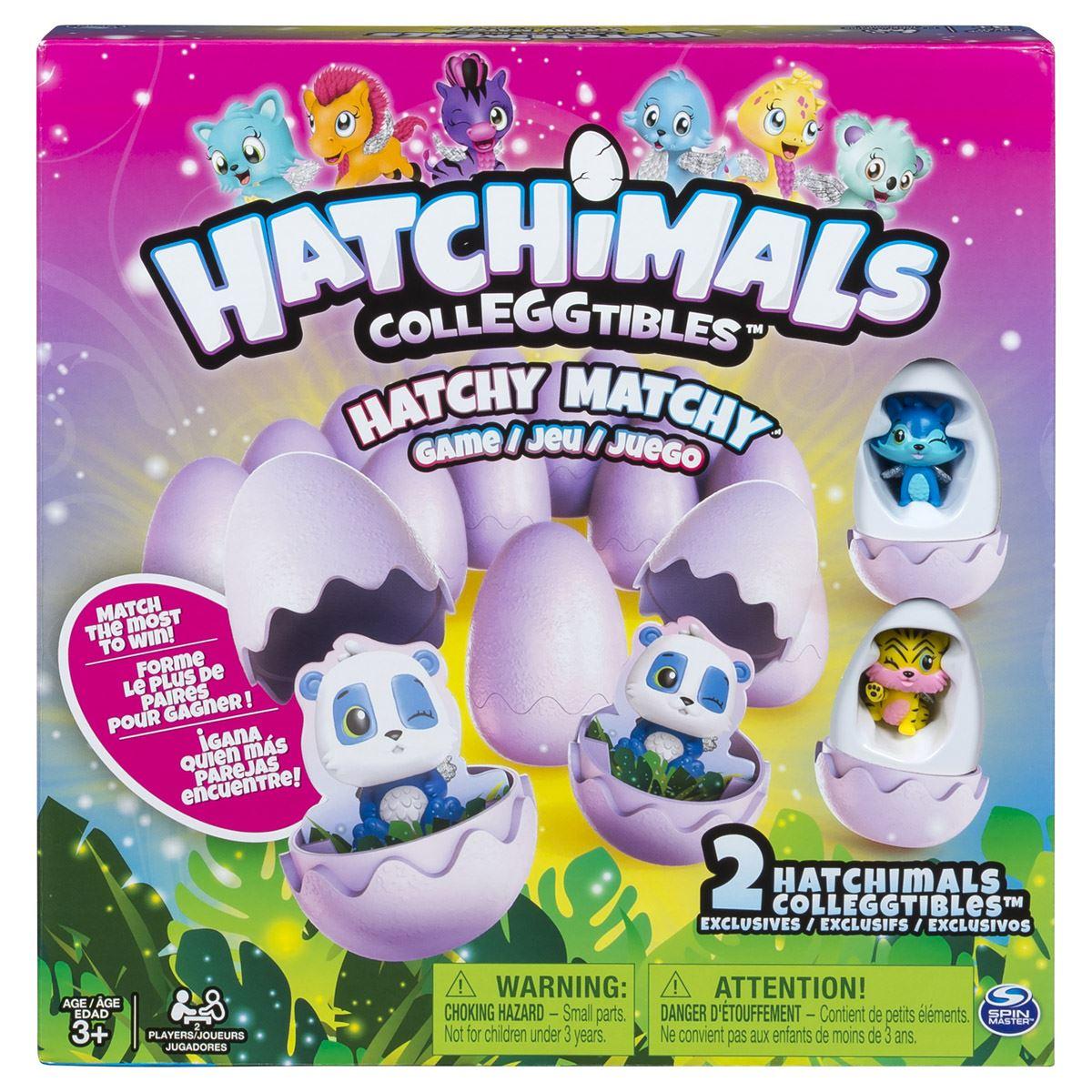 Juego de Mesa Hatchy Matchy  de Hatchimals
