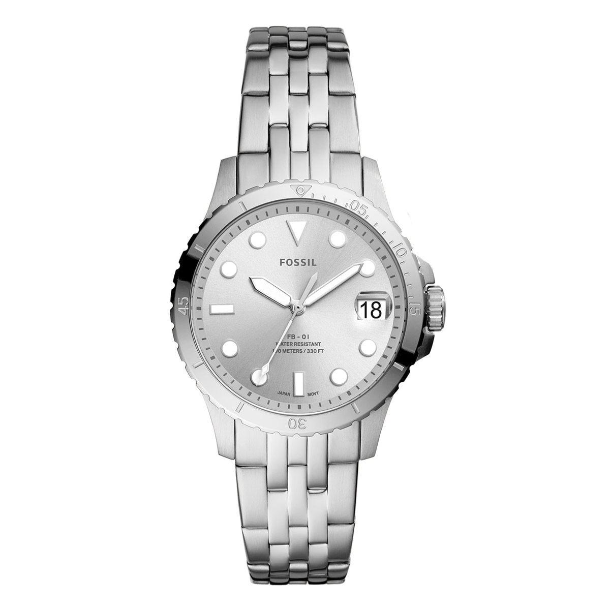 Reloj Fossil para Dama Plateado