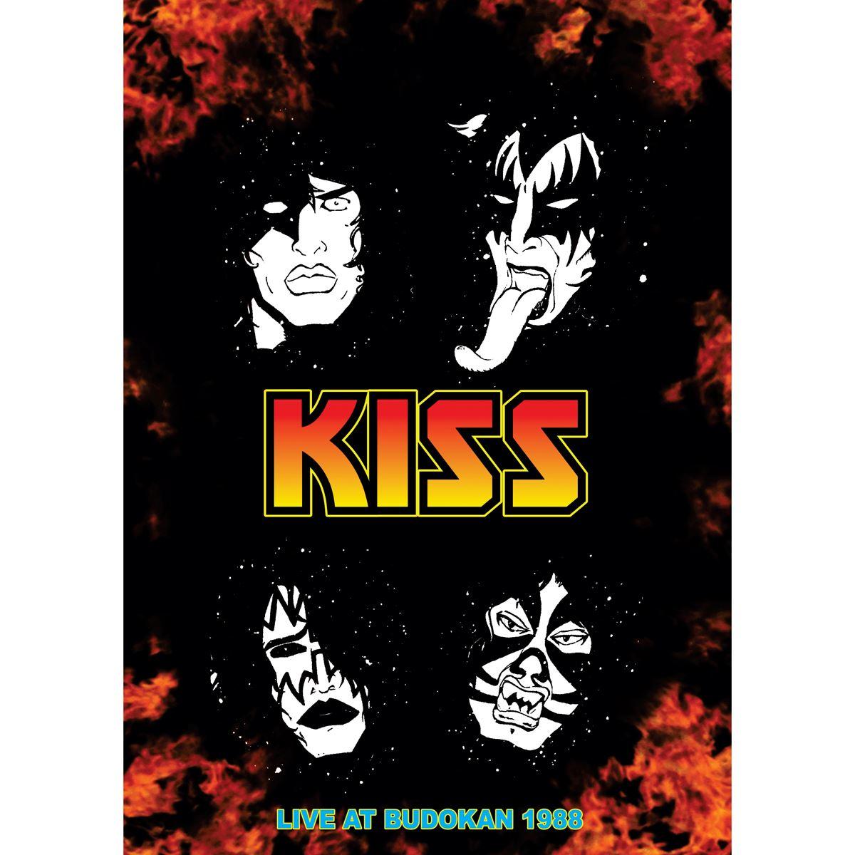 DVD Kiss-Live At Budocan 1988