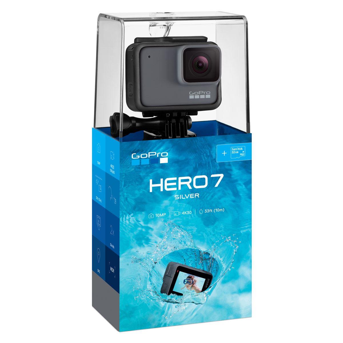 Videocámara GoPro Hero 7 Silver
