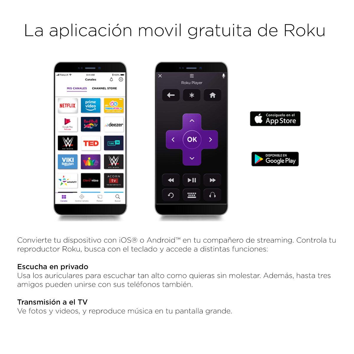 Reproductor Streaming Roku Express