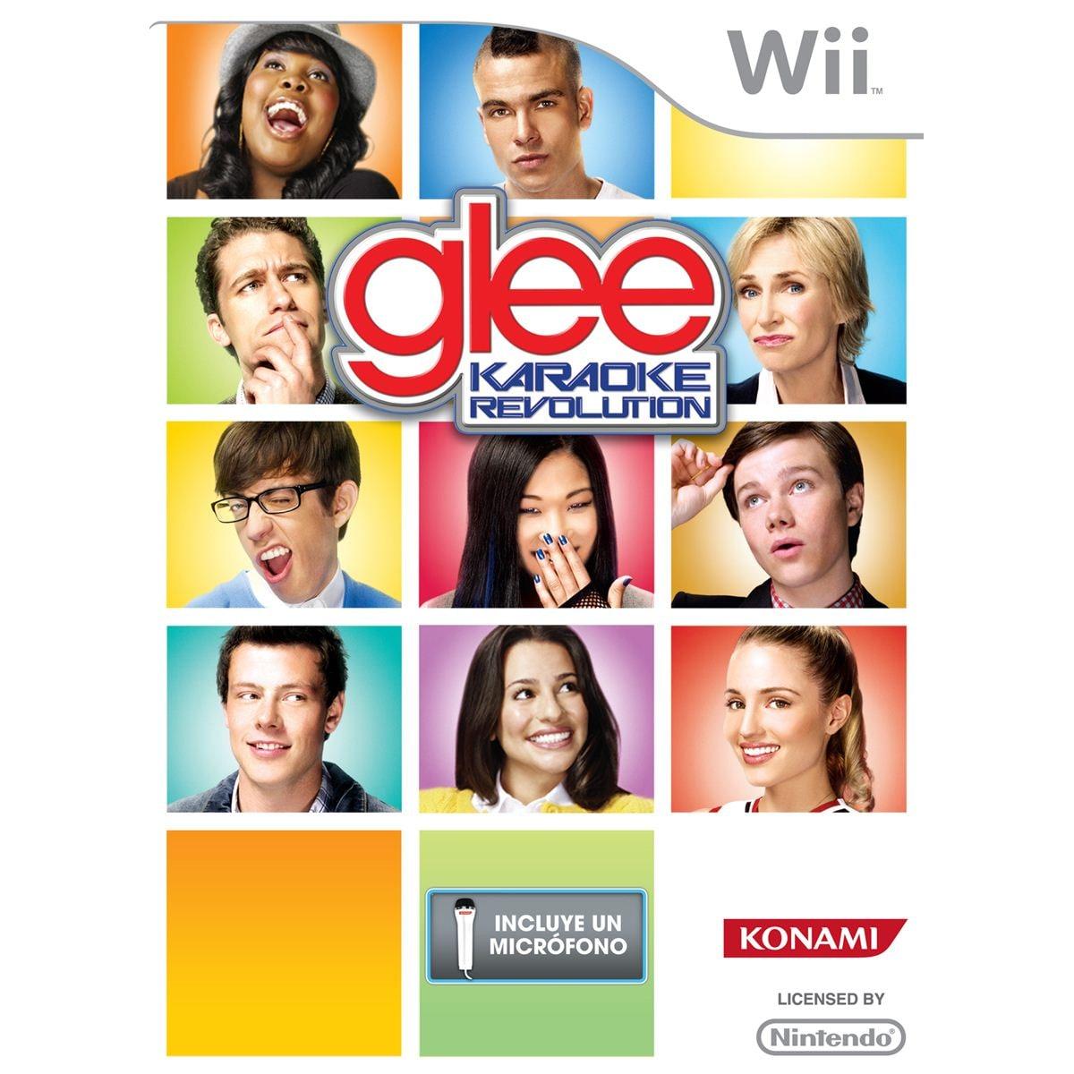 Wii Karaoke Revolution Glee Softwar