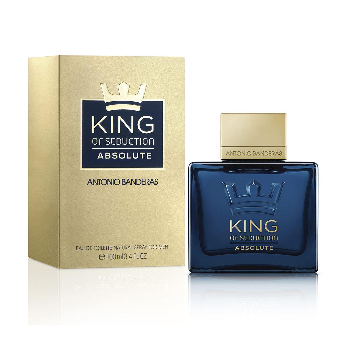 Fragancia para Caballero Antonio Banderas King of Seduction Absolute 100 ml