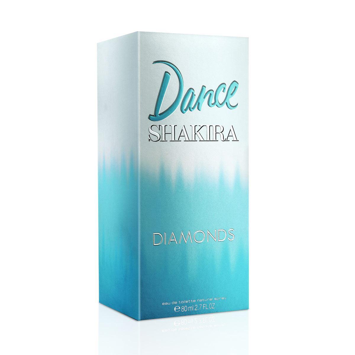 Fragancia para Dama Shakira Dance Diamonds EDT 80 ml