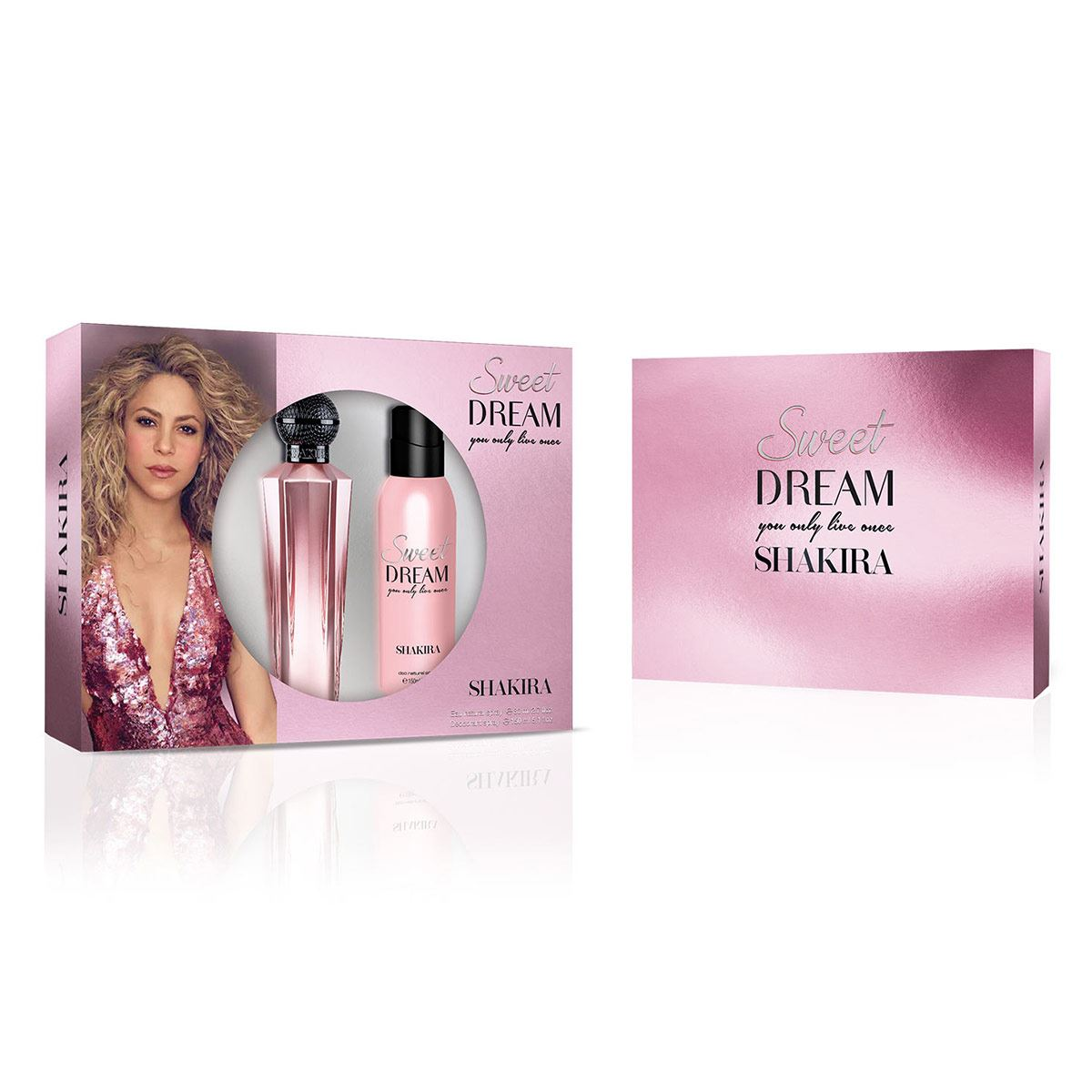 Set para dama, Shakira, Sweet ream, EDT 80 ml + Desodorante 150 ml