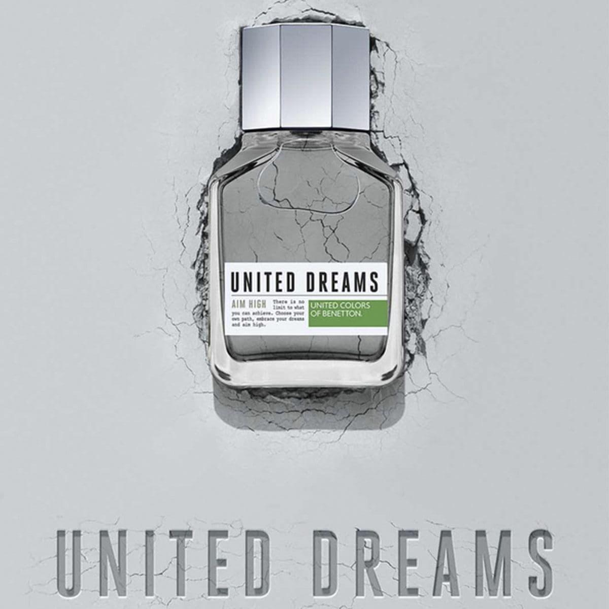Fragancia para Caballero Benetton United Dreams Aim High EDT 100 ml