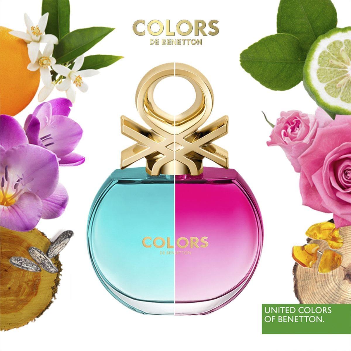 Fragancia para Dama, Benetton  Colors Pink EDT 80ML