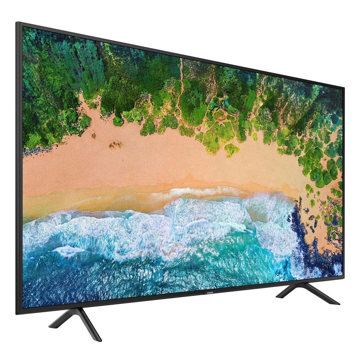 "Pantalla Samsung 43"" UHD 4K Smart TV UN43NU7100FXZ"