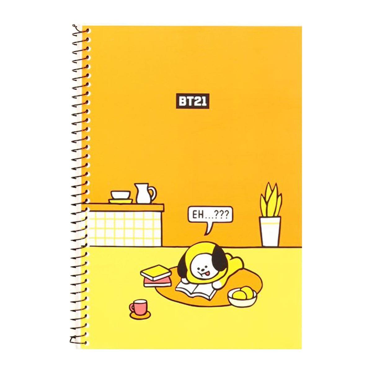 Cuaderno Con Personaje Chimmy Línea BT21