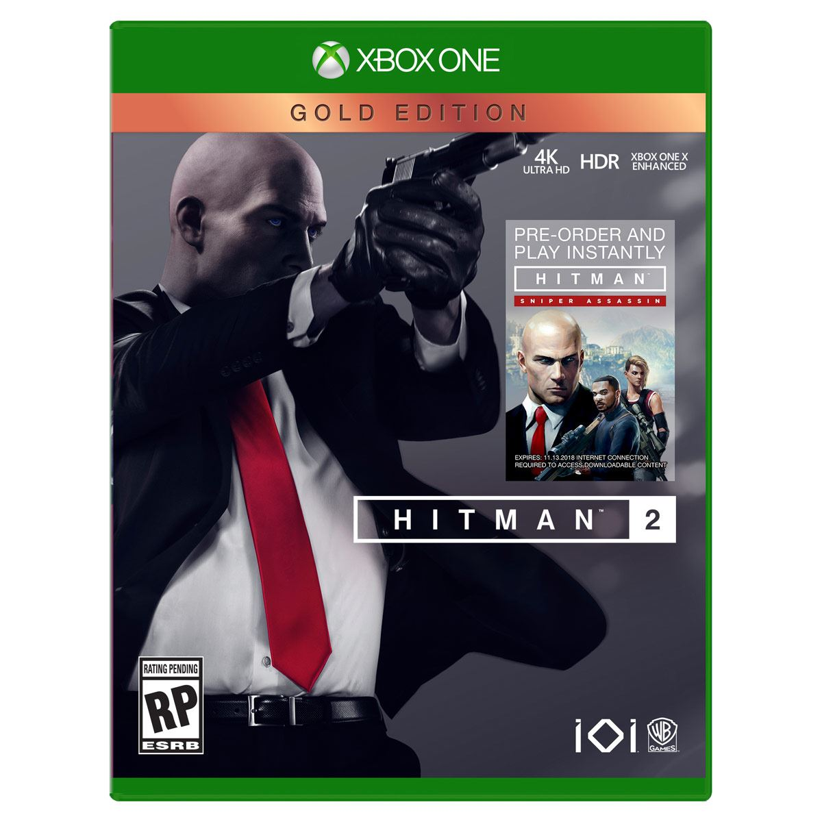 Xbox One Hitman 2 Gold Edition