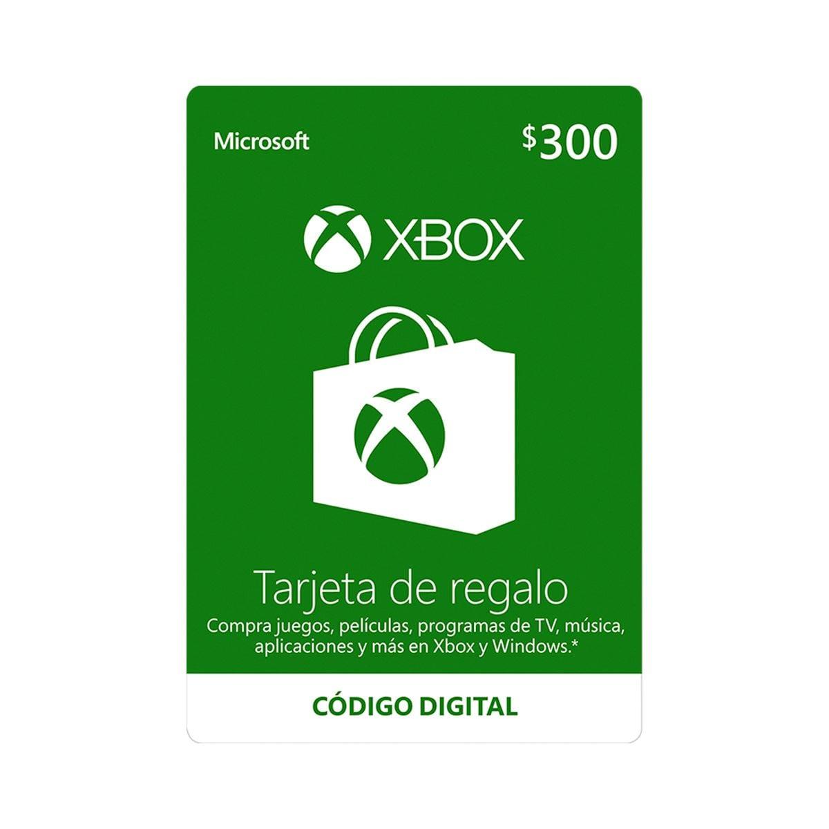 Esd Xbox Live 300 Mxn R15