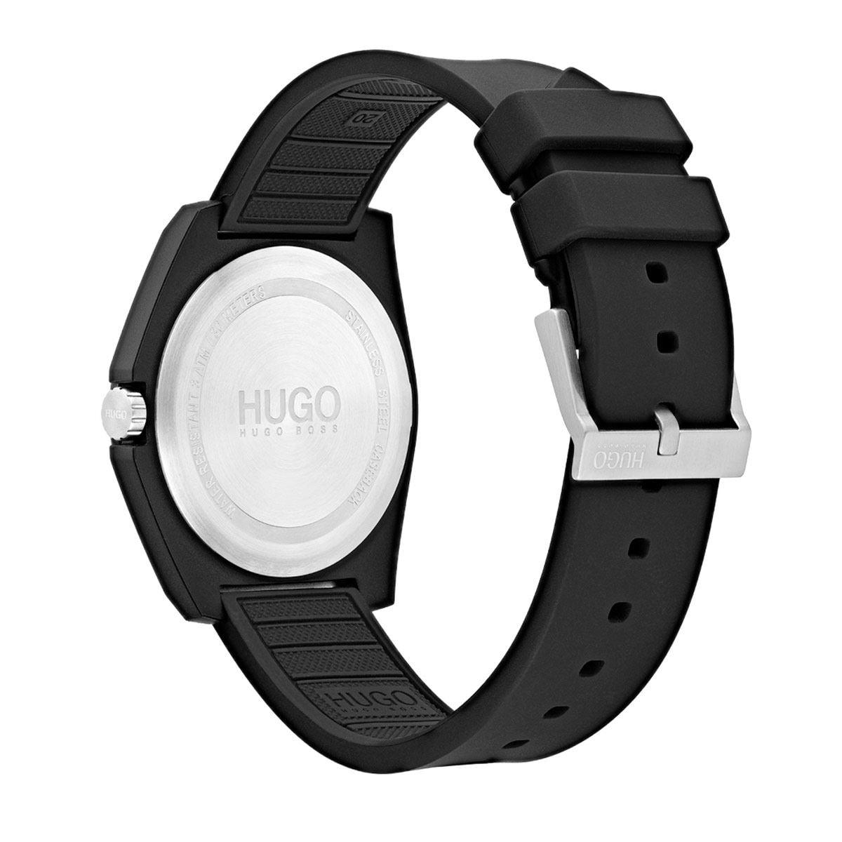Reloj Hugo Unisex Casual Negro 1520015