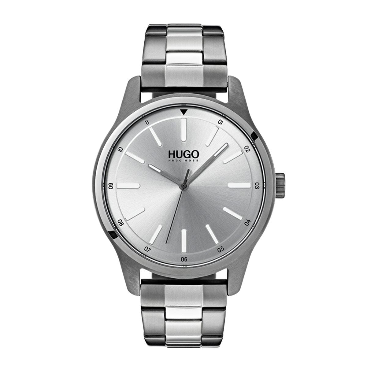 Reloj Hugo para Caballero Casual Plateado 1530021