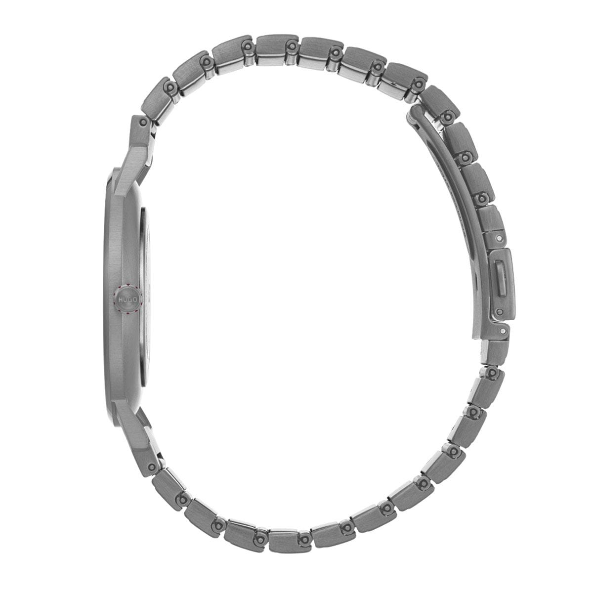 Reloj Hugo Unisex Casual Gris 1520019 Para Dama