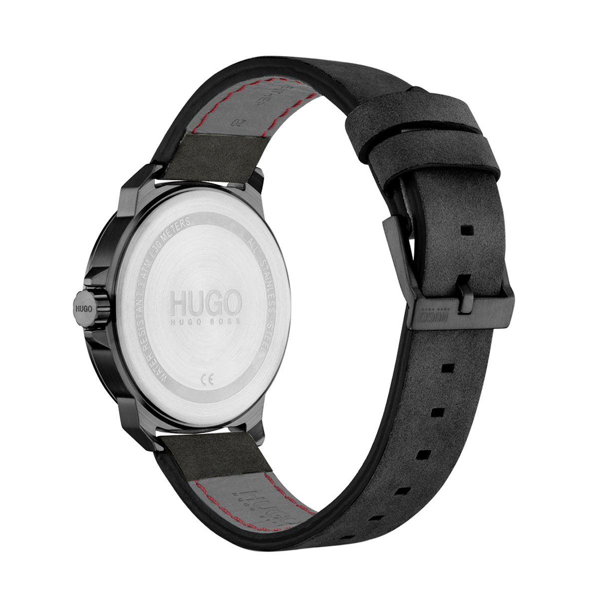 Reloj Hugo para Caballero Casual Negro 1530067