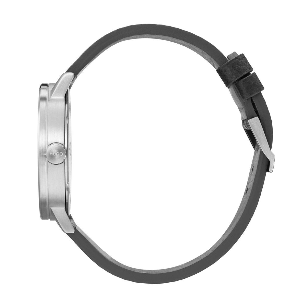 Reloj Hugo Negro 1530115 Para Caballero