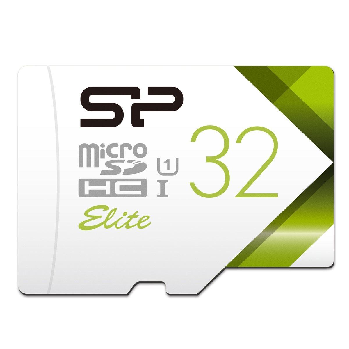 Micro SD 32GB Clase 10 UHS1 Silicon Power