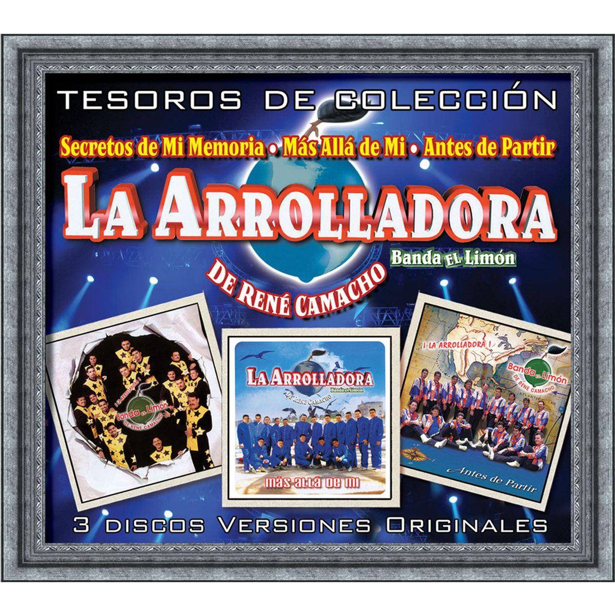 CD La Arrolladora Banda El Limón-Tesoros de Colección
